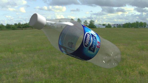 塑料瓶  矿泉水瓶3D模型