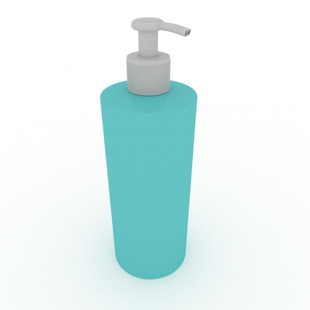 奶油瓶瓶子3D模型