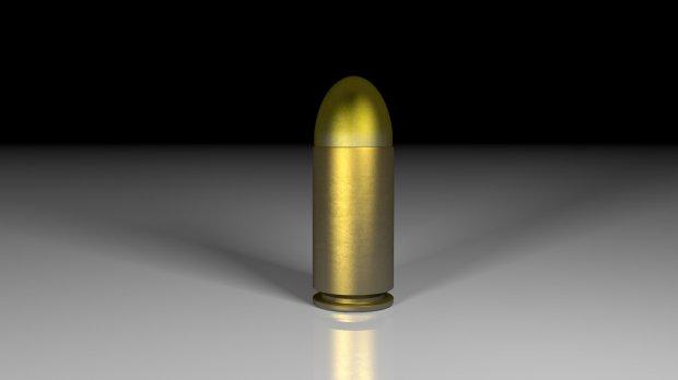 子弹+弹壳(手枪)3D模型