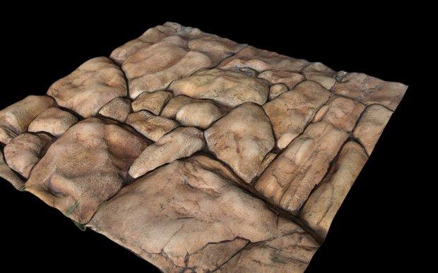 岩石地基3D模型