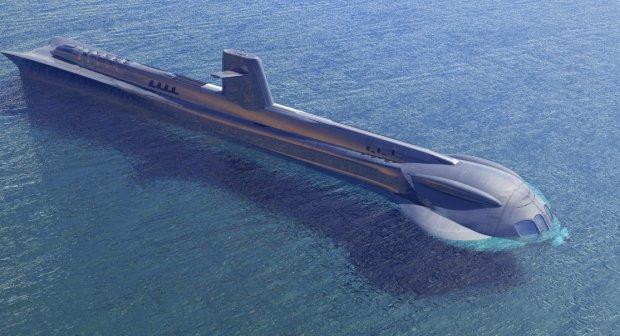 海景潜艇3D模型