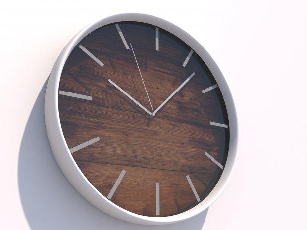 现代时钟 钟表3D模型
