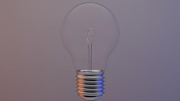 电灯泡3D模型