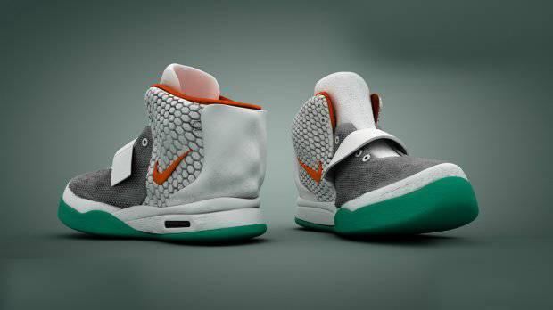 篮式耐克鞋子3D模型
