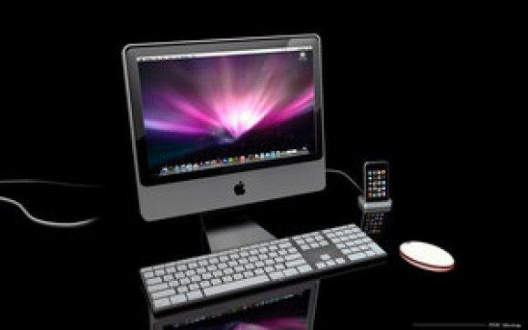 苹果品牌电脑3D模型