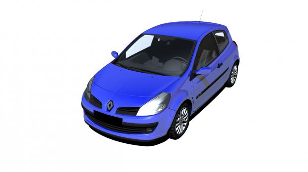 雷诺克里奥汽车3D模型