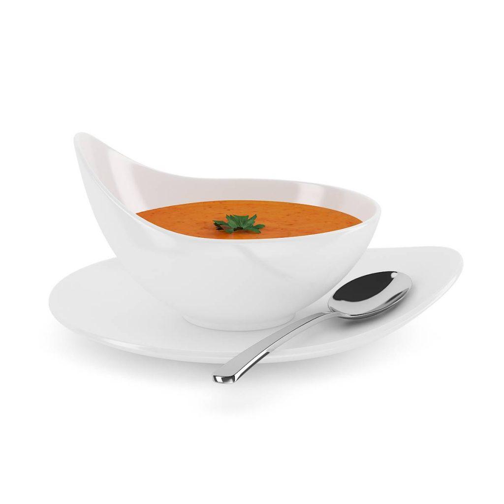 食物酱勺子C4D模型