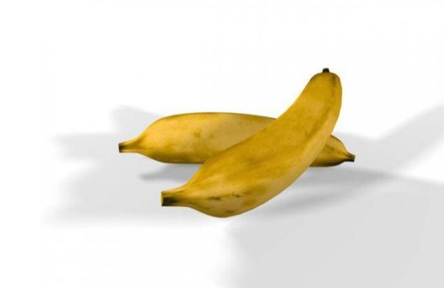 香蕉水果食品3D模型