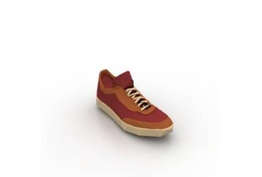 鞋子运动鞋足鞋3D模型