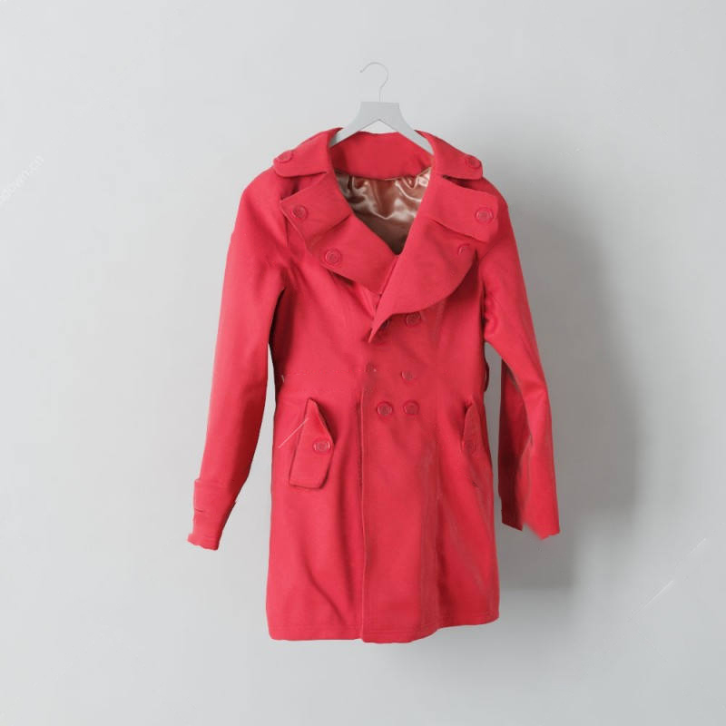 女士风衣模型衣服模型服饰模型西装模型