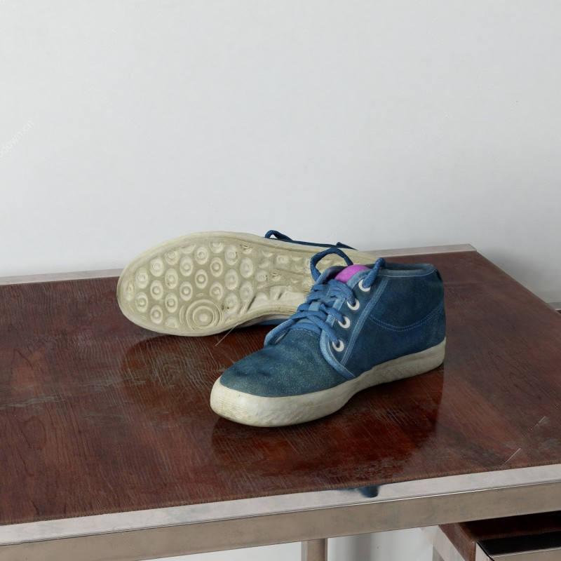 休闲鞋模型鞋子模型帆布鞋模型运动鞋模型