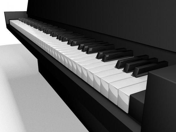 钢琴乐器3D模型