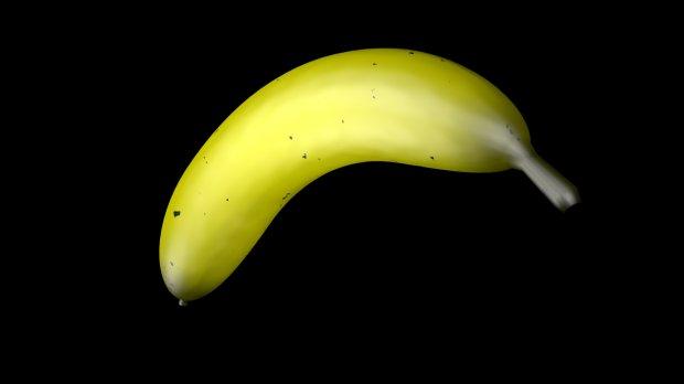 香蕉 水果3D模型
