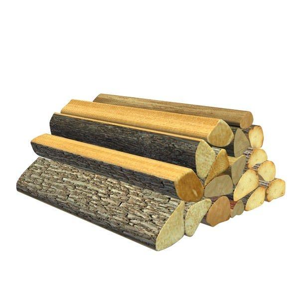 木材木堆3D模型
