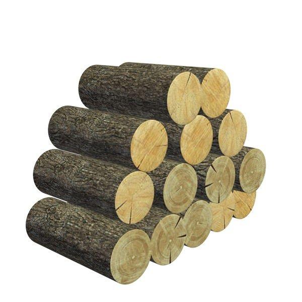 一堆木材木头木棍3D模型