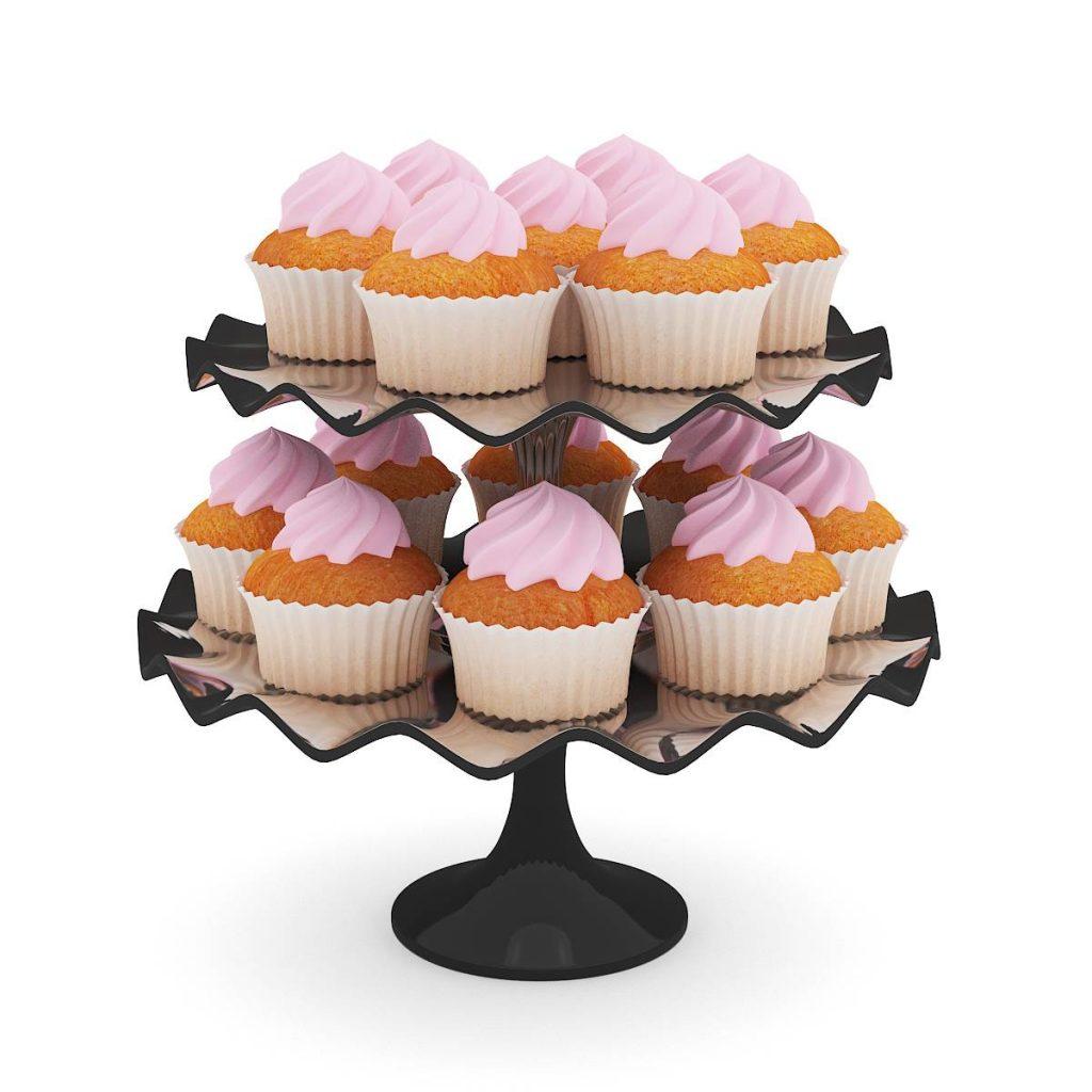 食物蛋糕冰淇淋C4D模型