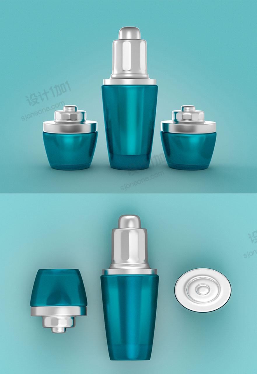 C4D化妆品以及场景