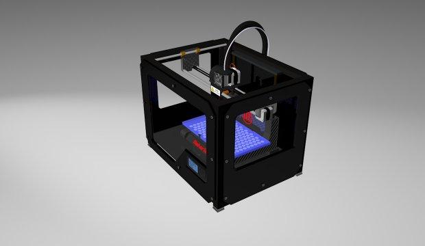 MakerBot 3D打印机3D模型