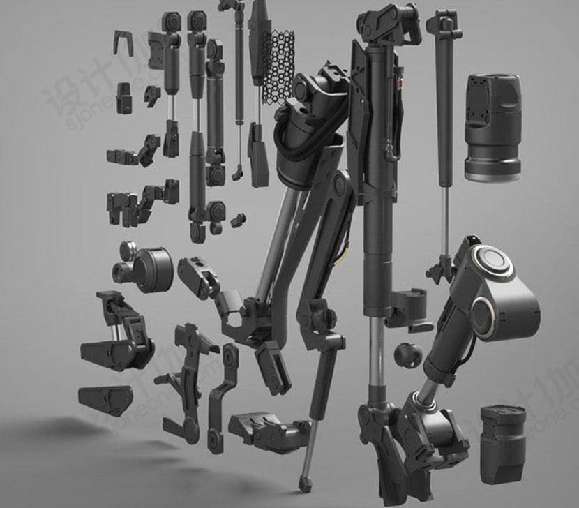 超强机械设备3D模型合辑C4D模型创意场景