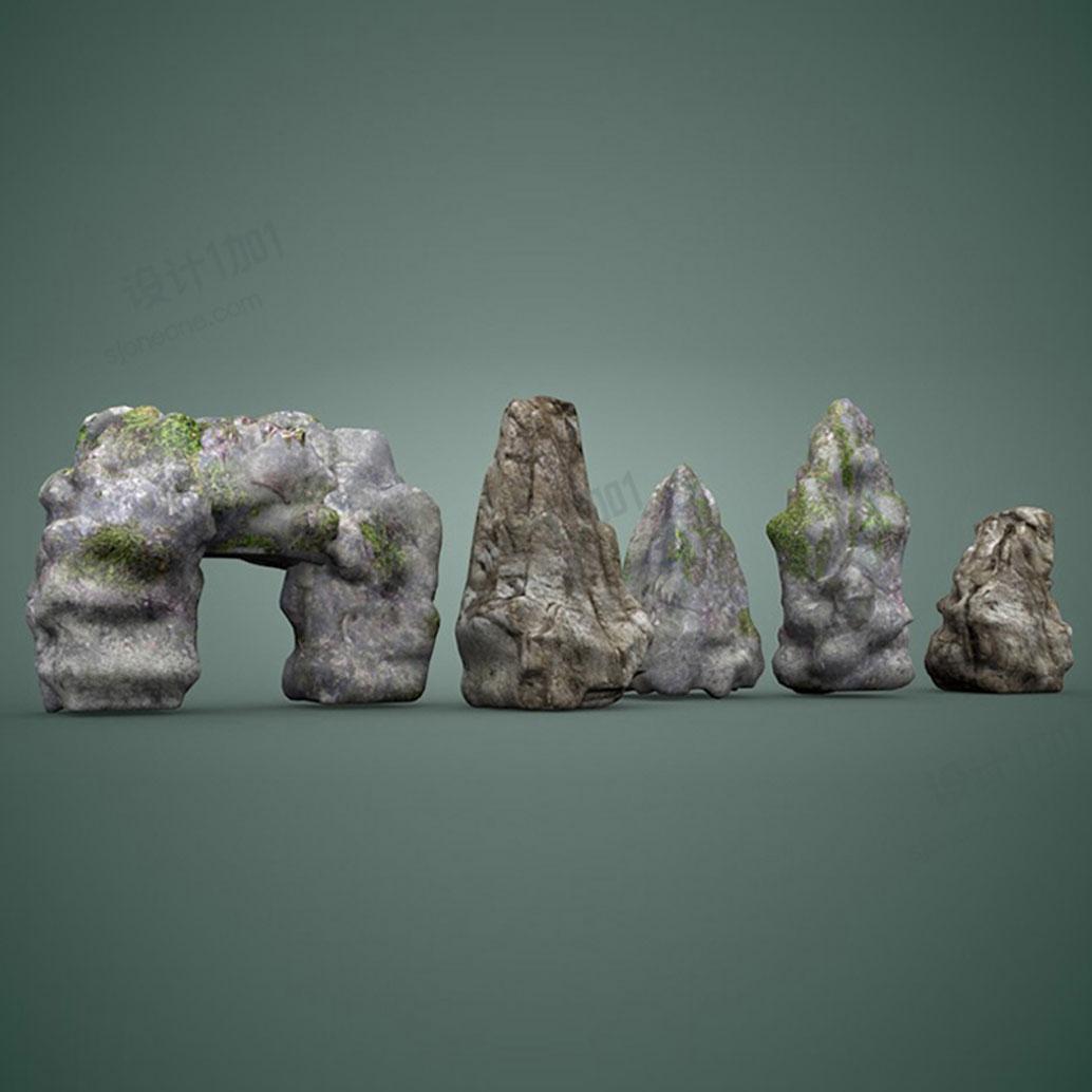 景观石装饰石头装饰品摆件公园