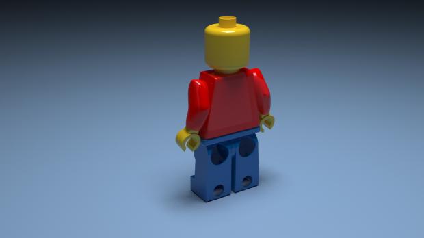 乐高人玩具3D模型