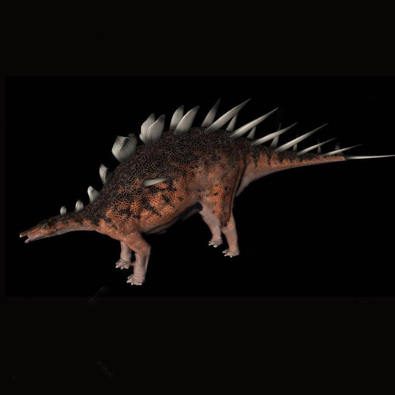 动物模型钉状龙恐龙模型