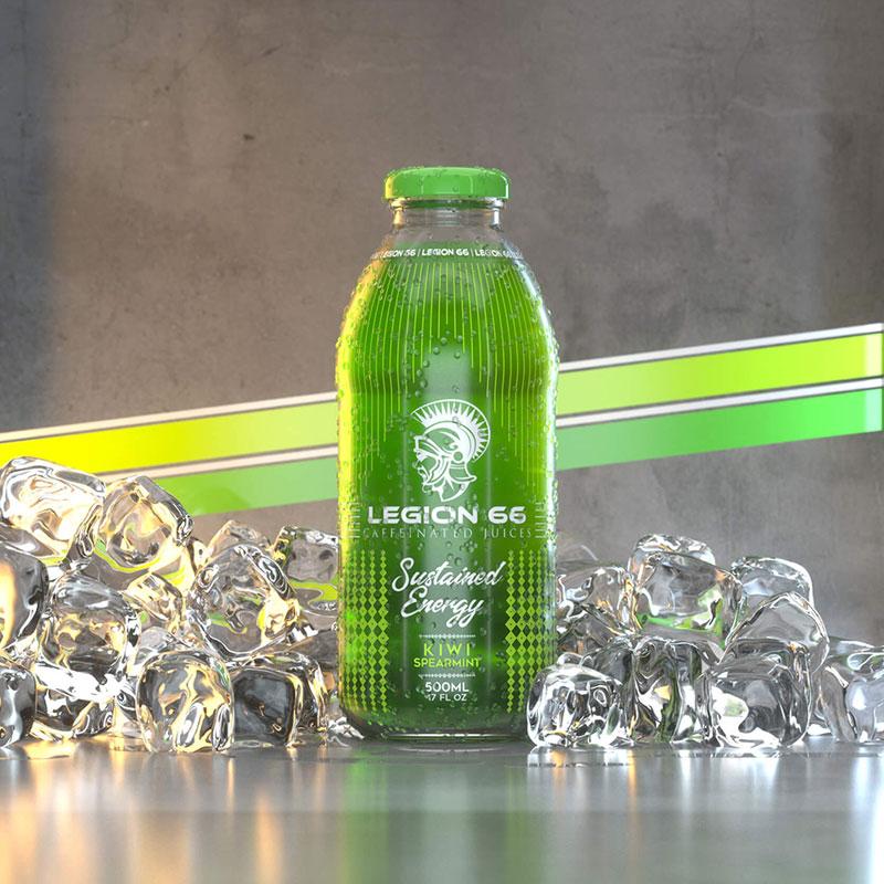 食物食品饮品酒水饮料产品冰块C4D模型