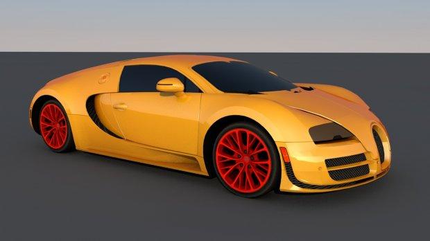汽车轿车赛车3D模型
