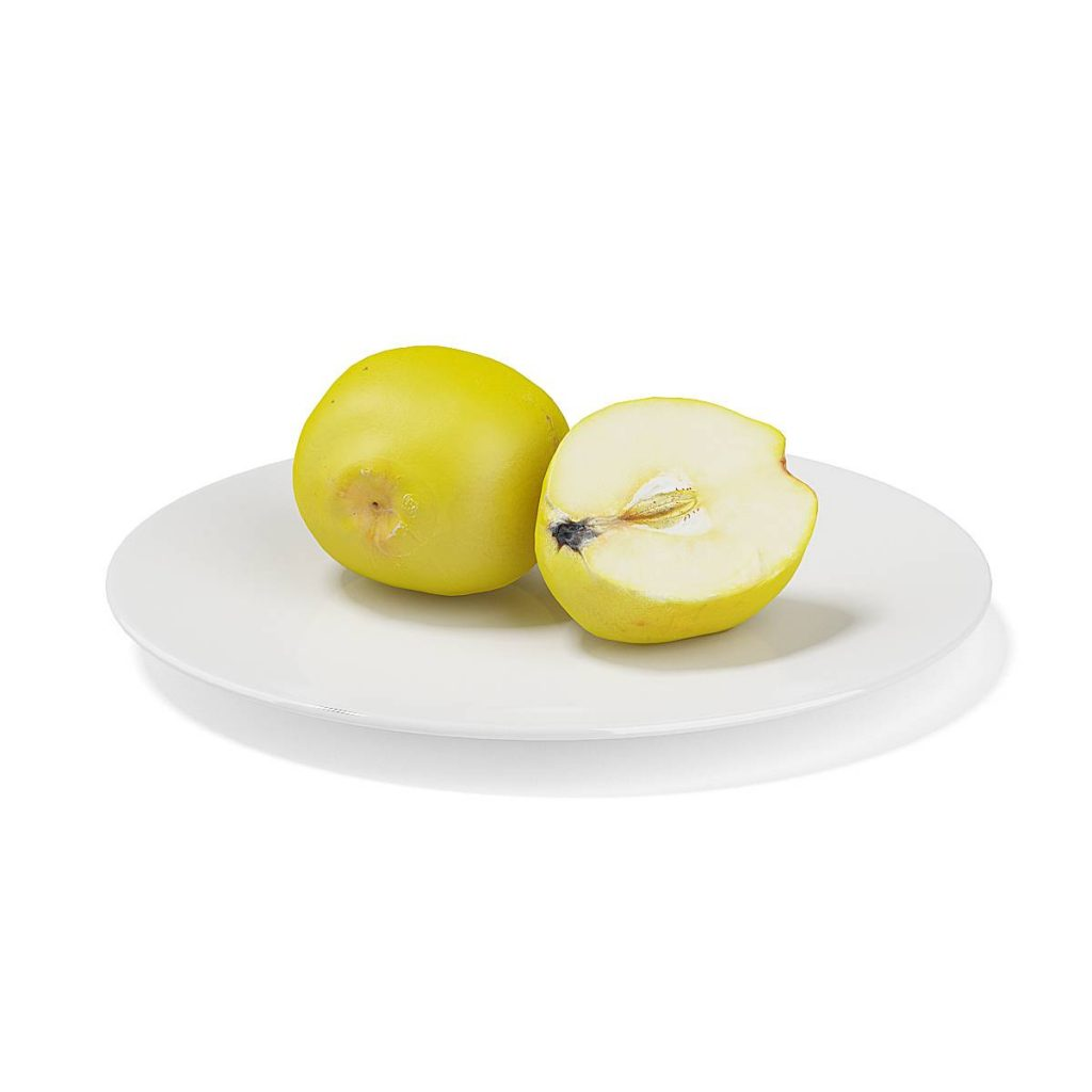 水果梨子C4D模型