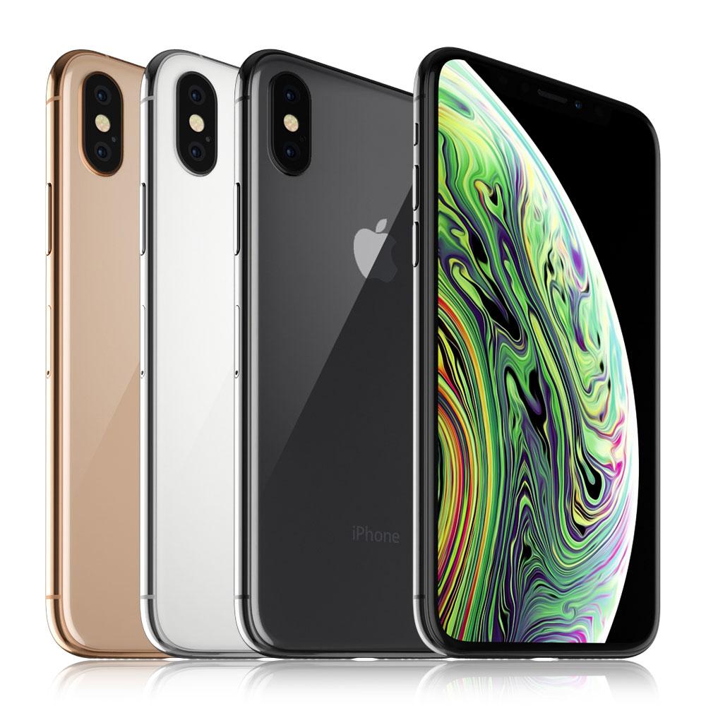 苹果iphonexs手机模型全颜色合集C4D模型