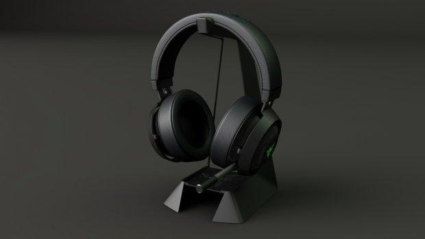 Razer Kraken v2耳机 3D模型