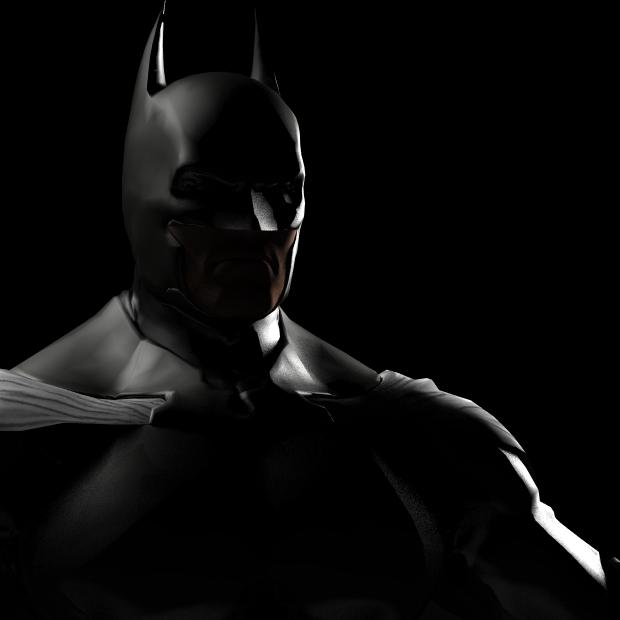 黑暗骑士3D模型