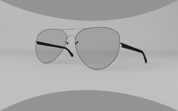 眼镜3D模型