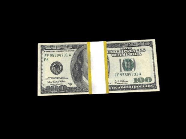 美元金钱钞票3D模型