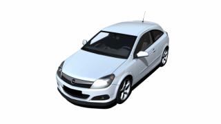 欧宝雅特 新雅特 汽车3D模型