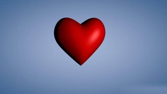 情人节的心3D模型