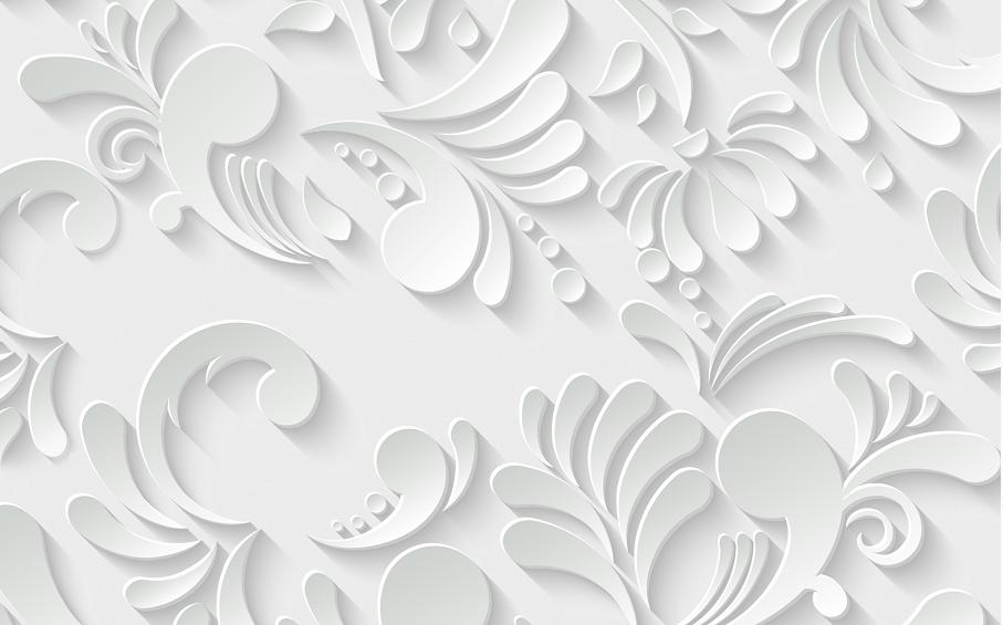 微粒体花纹雕刻背景墙时尚精美